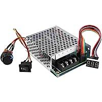 DC Motor Speed Controller, 9-60V High Power PWM-schakelaar Motor Speed Regulator CW CCW met cijferweergave