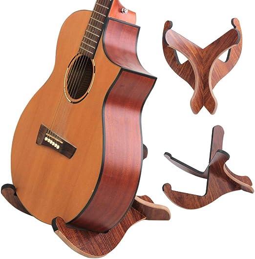 Soporte universal para guitarra de madera, estilo de marco de ...