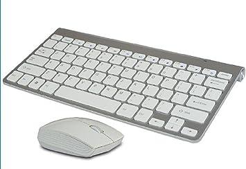 multimedia mini teclado inalámbrico y ratón inalámbrico ...