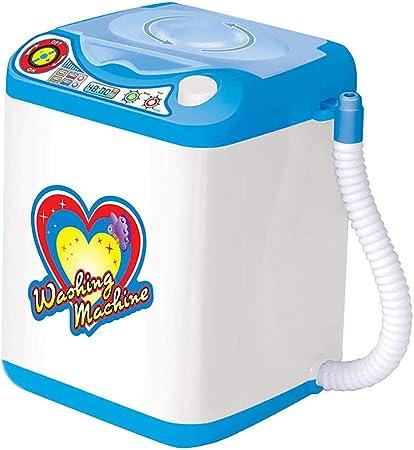 Juguetes para casa de muñecas para niños, minisimulación, máquina de Coser, Ventilador de Nevera, Muebles, Juego de Juguetes para niños y niñas, Accesorios para muñecas, plástico, Washing Machine: Amazon.es: Hogar