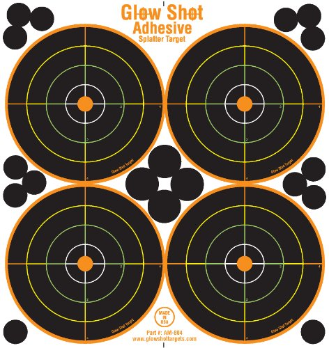 colored shooting targets - 1