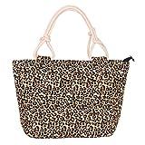 Swesy New Fashion Printed Women Shoulder Bag Canvas Handbag Top-Handle Bags