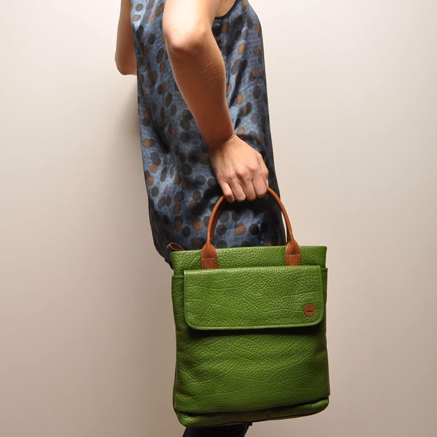berba Chamonix 458 Handbag in green