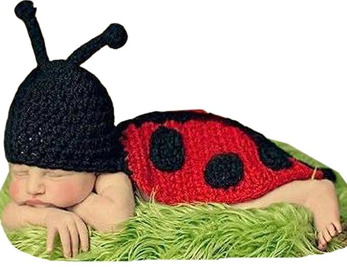 Demarkt Kinder Baby Strick Mütze Fotoshooting Neugeborene Käfer ...