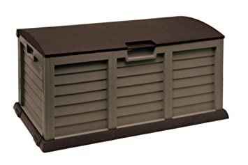 Bauli Plastica Da Esterno.Homegarden Cassapanca Da Esterno In Resina 140 X 61 X 69 Cm Amazon