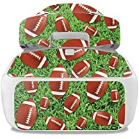 Skin For DJI Goggles – Football | MightySkins Protective, Durable, and Unique Vinyl Decal wrap cover | Easy To Apply, Remove, and Change Styles | Made in the USA