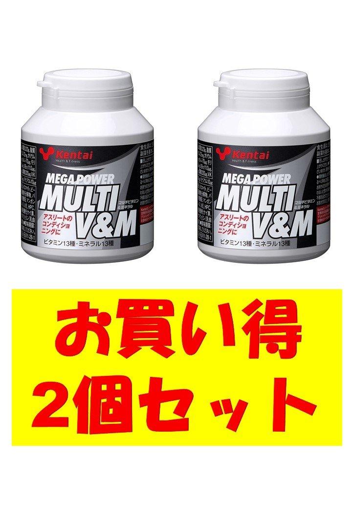 健康体力研究所(kentai ケンタイ) メガパワー マルチビタミン&ミネラル 150粒【2個セット B0748JTH2W