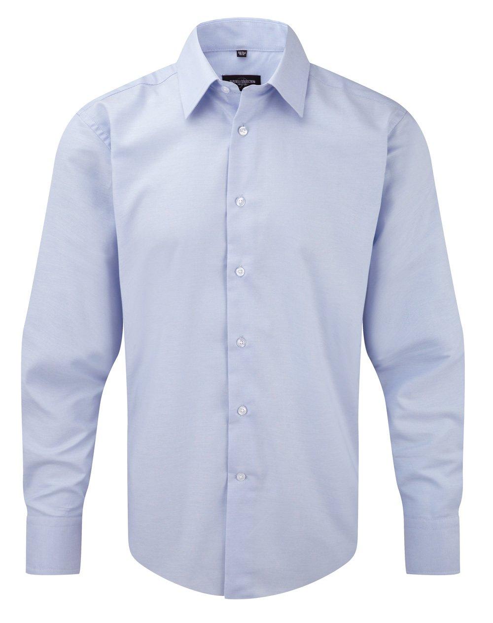 Camicia JE922M con Iniziale Ricamata Y Men's Long Sleeve Tailored Oxford Shirt - Tutte Le Taglie by tshirteria t-shirteria