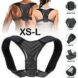 KANGMOON Posture Corrector for Men and Women - Pain Relief from Neck Shoulder Straightener Comfortable