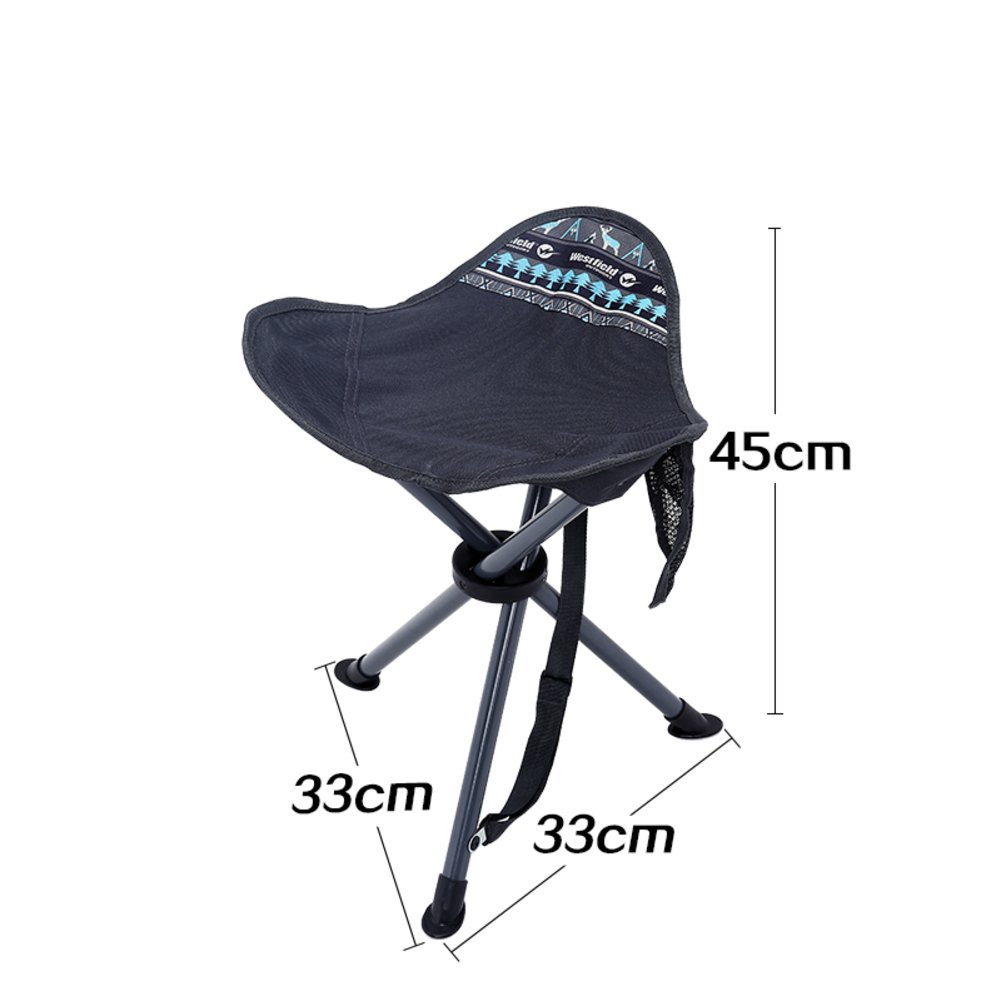 Chairs Folding with super light folding stool outdoor fishing stool reinforced stool by train stool-A
