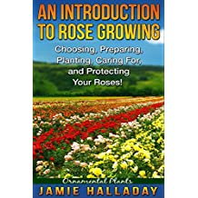 Ornamental Plants: An Introduction To Rose Growing - Choosing, Preparing, Caring For, and Protecting Your Roses (roses, flower garden, perennials, bouquets, shrubs, growing flowers, annuals)