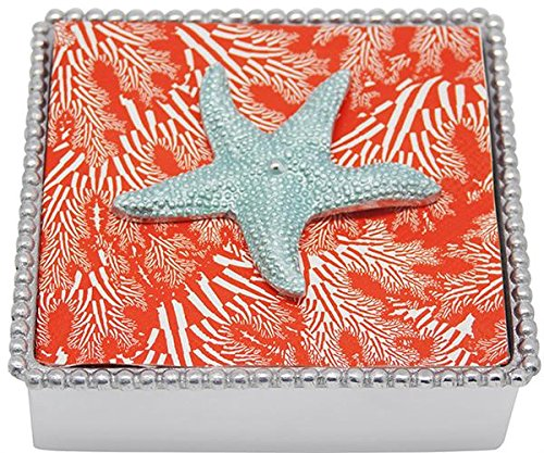 Mariposa-Starfish-Napkin-Weight-Aqua