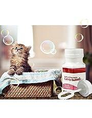 KaariFirefly Non-Toxic Catnip Bubble Pet Toy Natural Liquid Catnip Bubbles Oil Blower Cat Kitten Interactive Safe to Play Toys