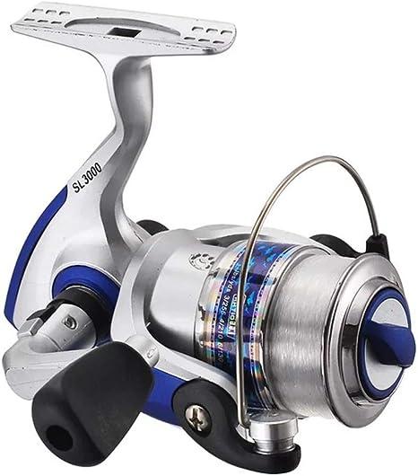 LERDBT Carretes de Pesca Spinning Fishing Reel Cuerpo de Metal ...