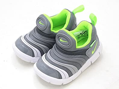 afdb9ccbcebd3 Nike Dynamo Free TD Cool Grey Elctrc GRN-Blck-WHT 343938-005