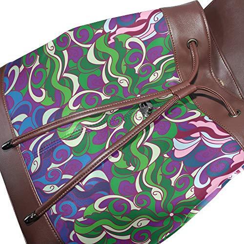 porté femme main DragonSwordlinsu unique Taille pour au à dos Sac multicolore x0pTt