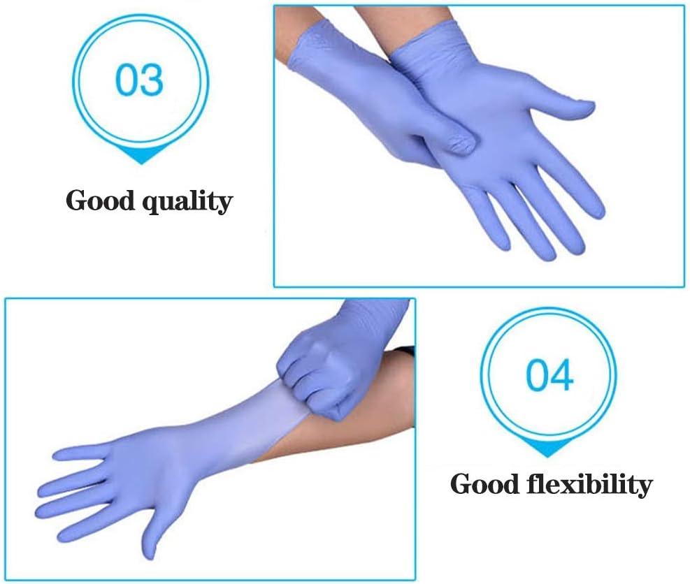 Color : A, Size : L JEHRSZZ 100PCS Guanti in Lattice monouso lavastoviglie//Cucina//Guanti medicali//Lavoro//Gomma//Giardino Universale for Mano Sinistra e Destra