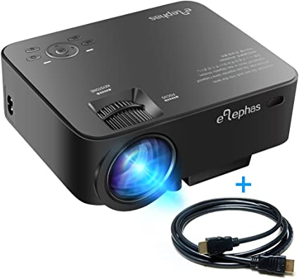 Beamer, ELEPHAS T20 1500 Lumens LED Mini proyector portátiles f¹r ...