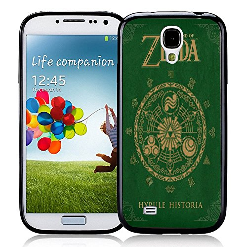 The Legend Of Zelda Hyrule Historia For IPhone And Samsung Galaxy Case Samsung Galaxy S4 Black