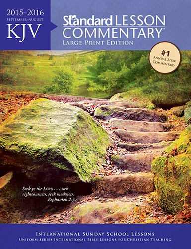 63 kjv standard lesson commentary large print edition 2015 2016 63 kjv standard lesson commentary large print edition 2015 2016 standard publishing 9780784774755 amazon books fandeluxe Images