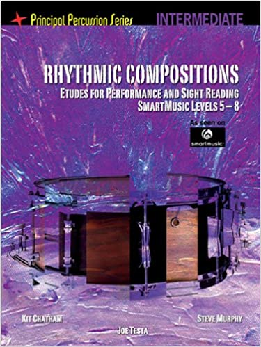Rhythmic Compositions - Etudes For Performance And Sight Reading (Intermediate) (Principal Percussion Series)