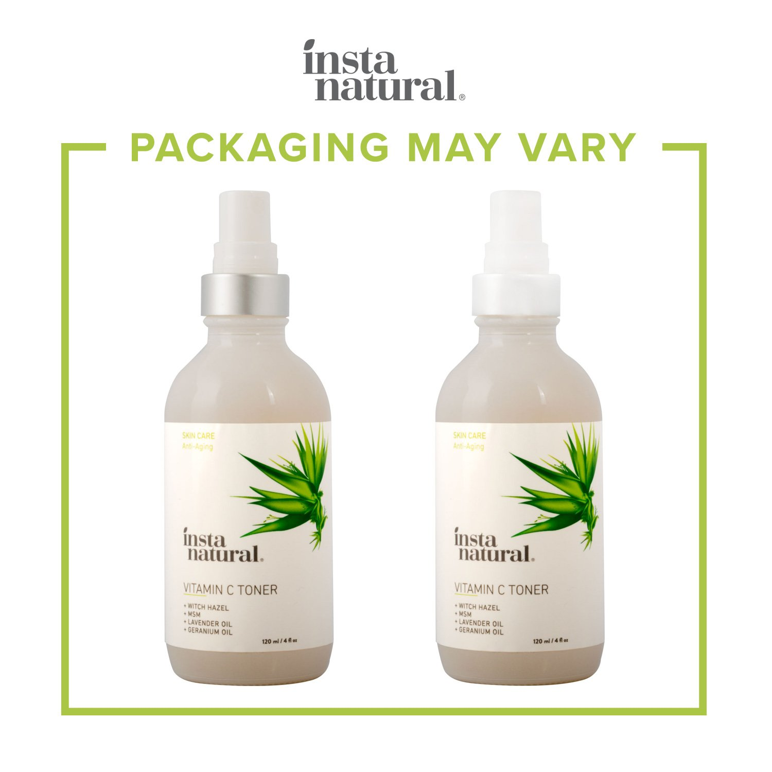 Vitamin C Skin Clearing Face Toner - Natural & Organic Anti Aging Formula with Salicylic Acid & Hyaluronic Acid - Helps Wrinkle, Dark Spot, Fine Lines - Safe for Sensitive Skin - InstaNatural - 4 oz by InstaNatural (Image #6)