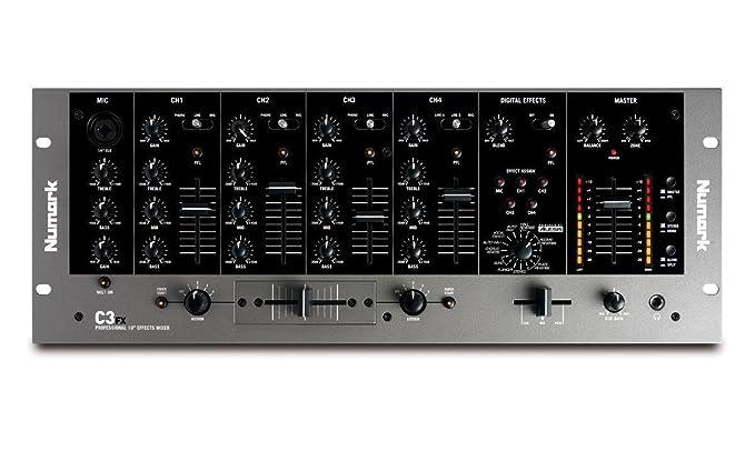 Numark mesa de mezclas de dj c3fx mixages: Amazon.es: Instrumentos ...