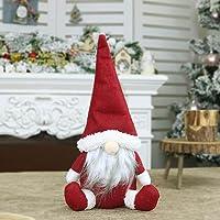 NOENNULL Decoración navideña sin Rostro, figurillas Decorativas navideñas