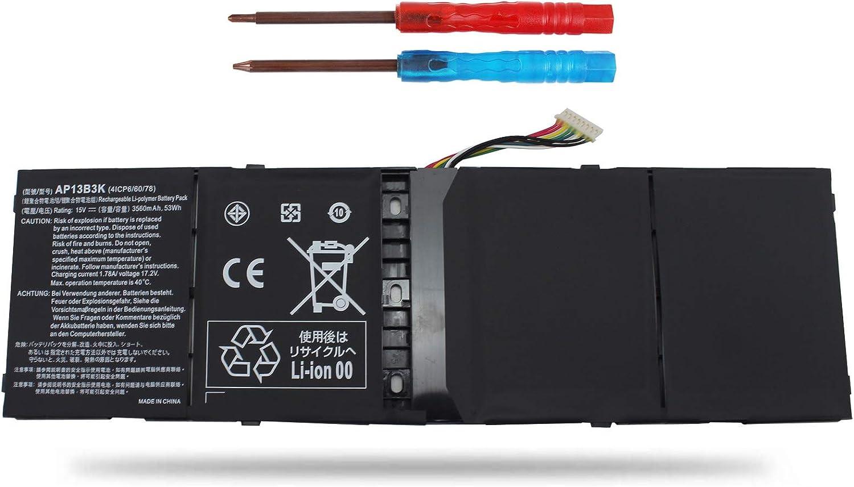 Vinpera AP13B3K AP13B8K Battery for Acer Aspire M5-583 M5-583P M5-583P-5859 M5-583P-6423 M5-583P-6428 M5-583P-6637 M5-583P-9688 R7-572 ES1-511 ES1-512 V5-473P V5-552G V5-573G V7-582p