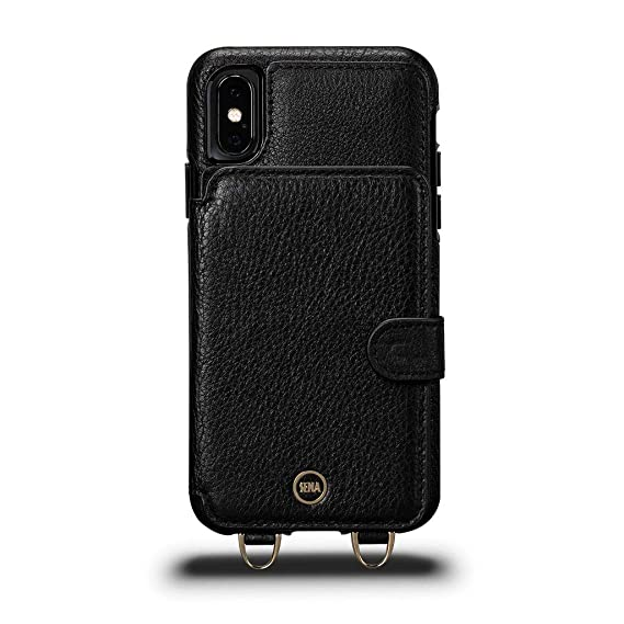 cheap for discount 77596 25b13 Amazon.com: Sena Cases, Kyla Crossbody Snap On Case iPhone XR 6.1 ...