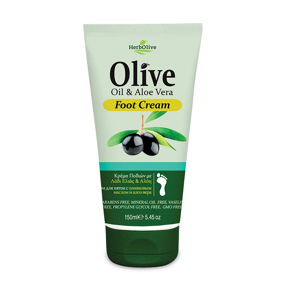 Herbolive Foot Cream, Aloe Vera 150 ml Madis S.A. 12501