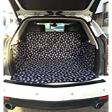 Pet Dog Waterproof Cargo Liner Non Slip Backing Cover For SUV Cars (White)
