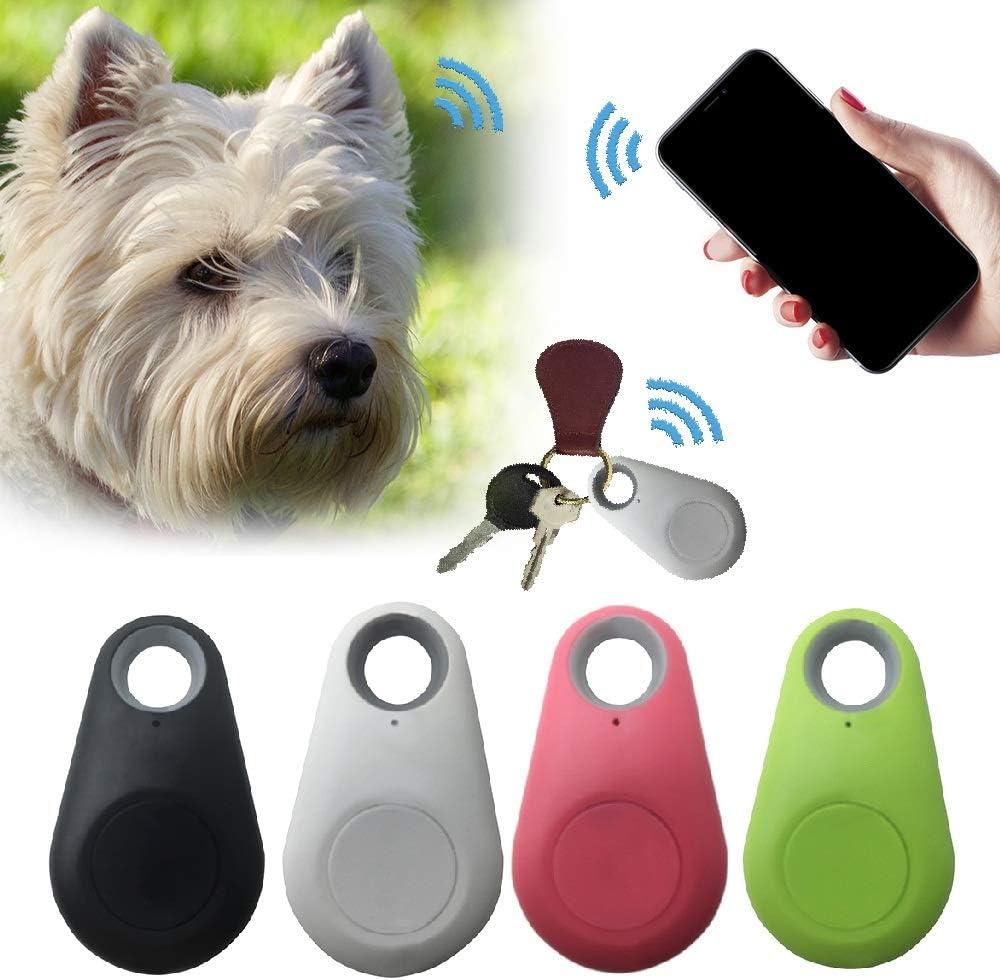 Yanshan Pets Smart Mini rastreador GPS antipérdida, Impermeable, rastreador Bluetooth para Mascotas, Perros, Gatos, Llaves, Cartera para niños, rastreadores
