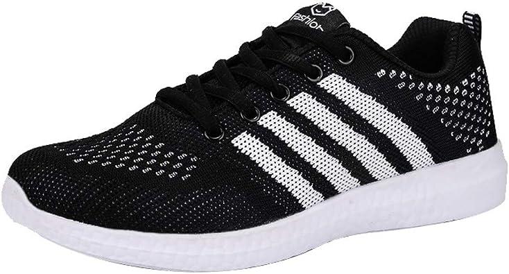 Zapatillas Deportivas de Mujer Sport Sport Zapatillas de Running Comodas Fitness Sneakers Bajo Precio Correr Ligero 2cm 35-40: Amazon.es: Zapatos y complementos