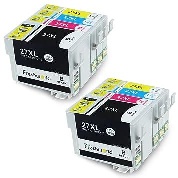 Freshworld Epson 27XL 2 conjunto Cartuchos de tinta para ...