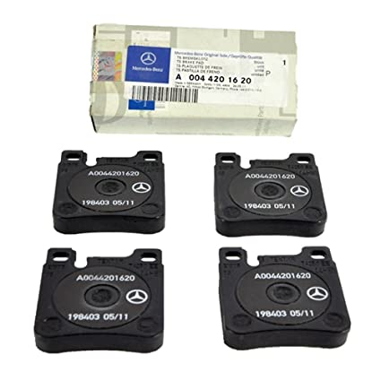 Mercedes Benz Rear Brake Pads Pad Set Genuine OE 0041620 (VIN#REQUIRED)