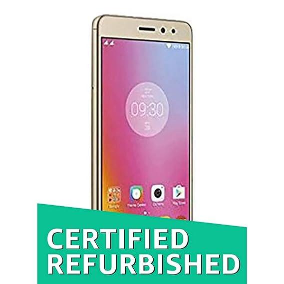 (Certified REFURBISHED) Lenovo K6 Note K53A48 (Gold, 32GB)