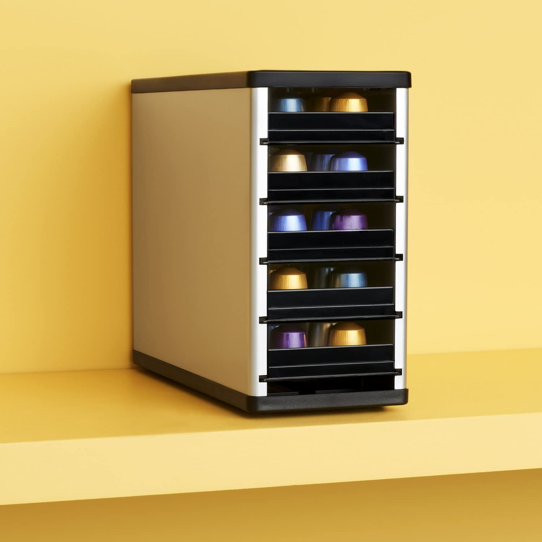 Cafe Stack - Armario Organizador para cápsulas de café (60 ...