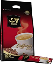Trung Nguyen - G7 3 In 1 Instant Coffee - 100 Sticks | Roasted Ground Coffee Blend with Creamer and Sugar, Suitable for Most