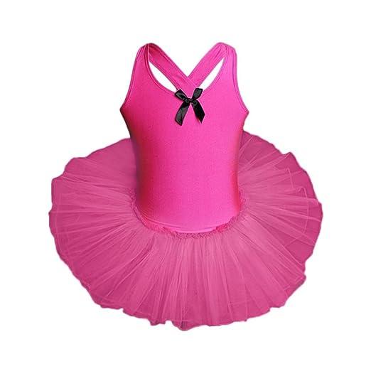 aa8f753da83c Goodlock Toddler Kids Fashion Dress Baby Girls Gauze Leotards Ballet  Bodysuit Dancewear Dress Clothes Outfits (