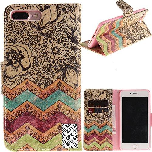 LefRight iPhone 8 Plus Wallet Case [5.5