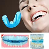 Gowri Express Dental Braces For Teeth Alignment Training Orthodontic Tooth Guard Bruxism Transparent - Blue