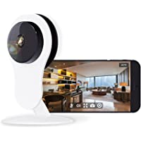 Home Security Camera, Compatible with Alexa Echo Show, Netvue HD WiFi Wireless IP Camera with Motion Detection, 7x24h Cloud Storage, Night Vision, 2 Way Audio, Baby Monitor (720P)