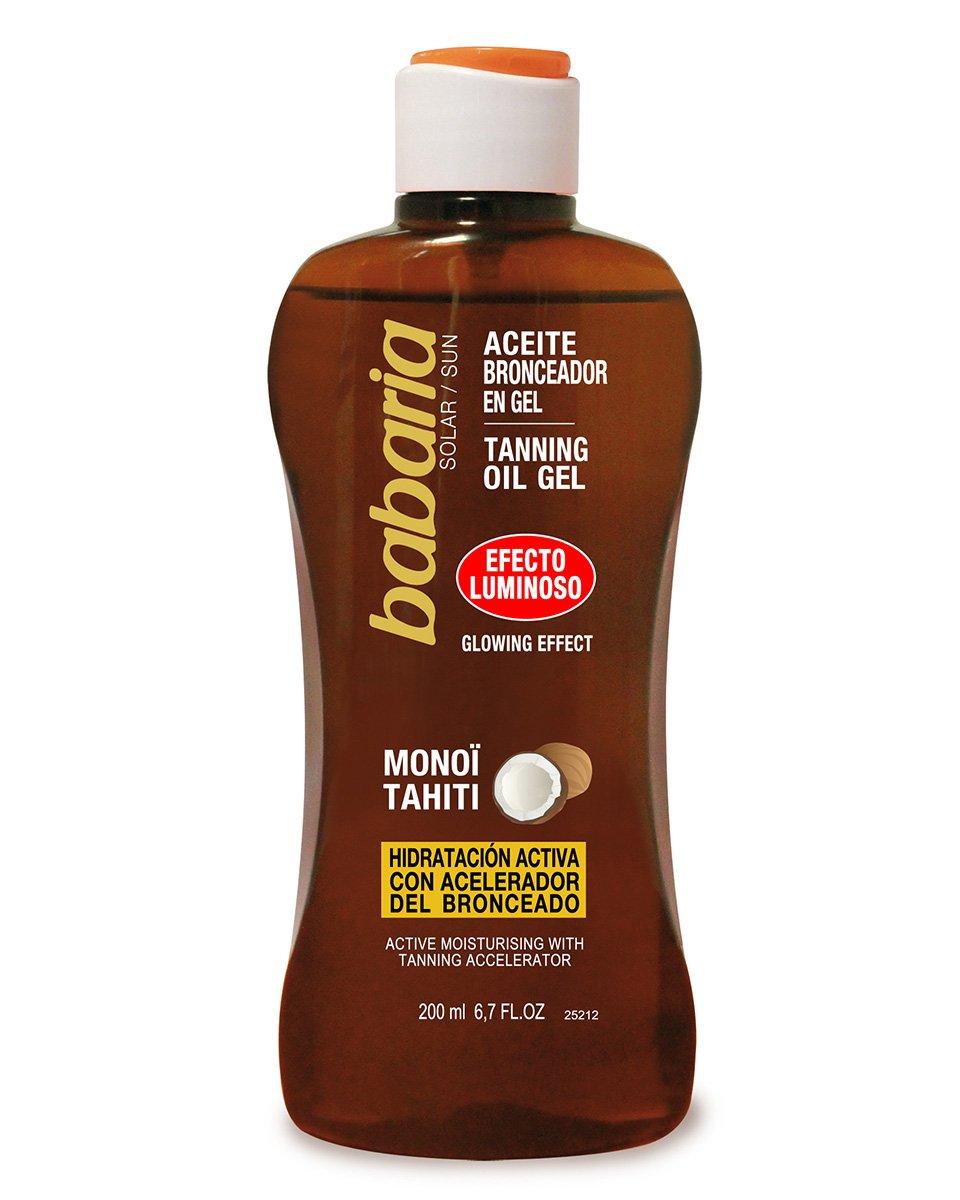Babaria Shimmering Coconut Tanning Oil Gel SPF 0 200ml BAB31943