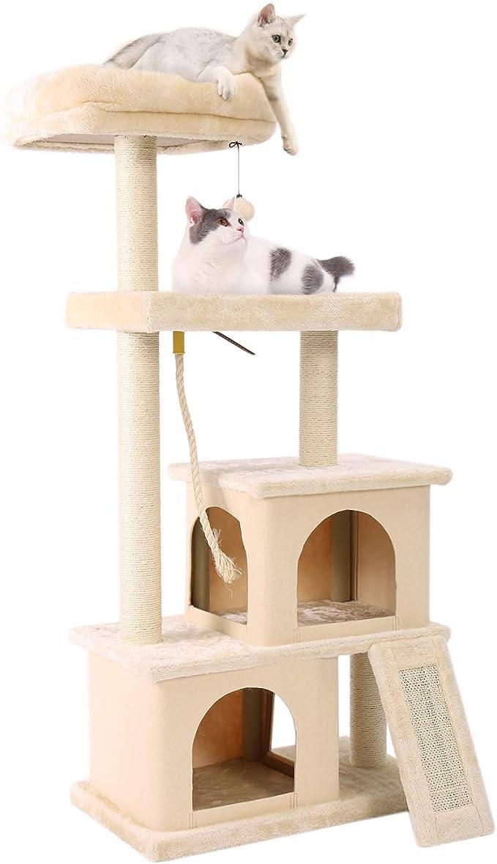 PAWZ Road Árbol para Gatos con casa para Gato, Escalador para ...