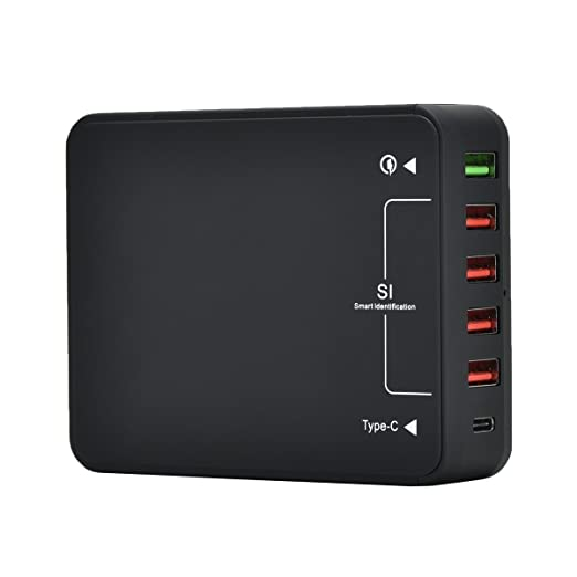 20 opinioni per Ronsen Q8118 USB Charger- Caricabatterie USB 6 Porta 5V/8A Quick Charge 3.0