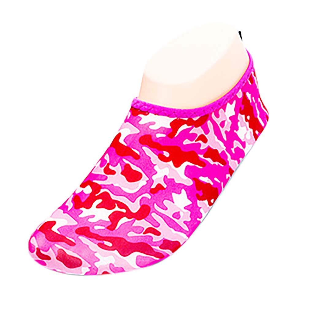 KEEYSUN Couple Beach Shoes Non-Slip Diving Socks Diving Sports Shoes Ultra Lightweight Running Walking Jogging Sneakers