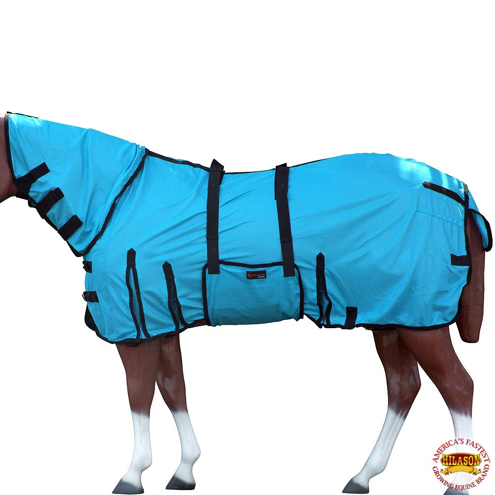 HILASON 78'' UV Protect MESH Bug Mosquito Horse Fly Sheet Summer Spring