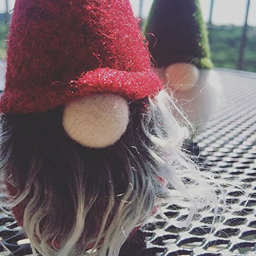 Handmade Christmas Gnome Ornaments For Men, Women & Kids | Well Crafted Luxury Figurines Set For Home Décor, New Year's Eve Parties, Personalized Gifts, Table Centerpieces, Garden (Family Set) by Holiday Christmas Gifts 7ProductGroup (Image #2)