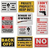BF Systems SN10OUT Sign Set (10 Pack)